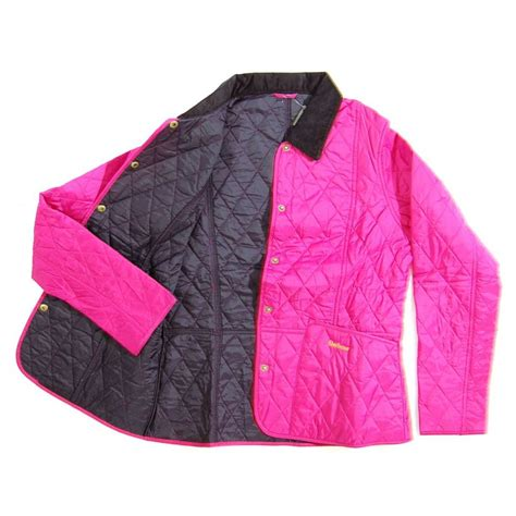 Barbour Pink Quilted Jacket by Barbour Summer Liddesdale Quilt Jacket Pink