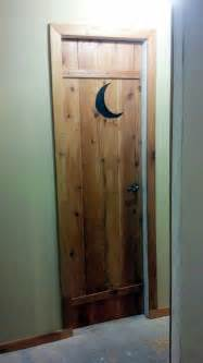 my outhouse bathroom door my outhouse themed bathroom