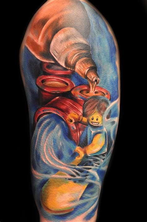 colorful tattoo by max pniewski design of tattoosdesign