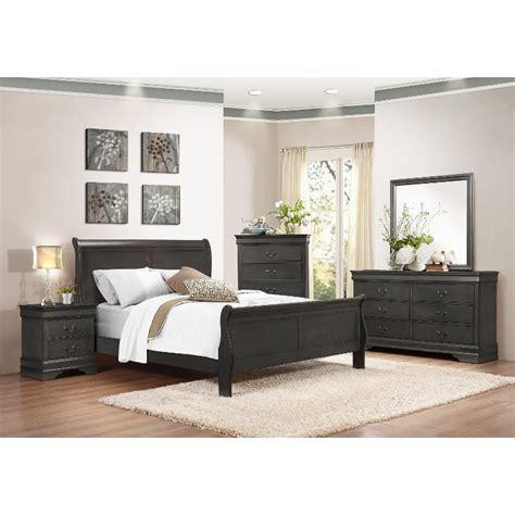 complete bedroom sets mayville slate gray 6 piece queen bedroom set 11183 | Mayville Slate Gray 6 Piece Queen Bedroom Set rcwilley image1~800