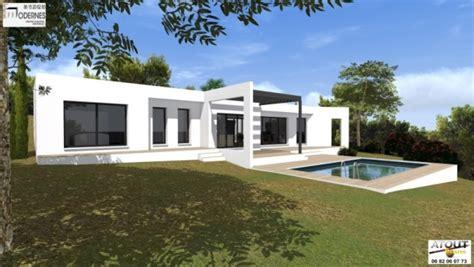 Moderne Villa by Maison Contemporaine Avec Patio