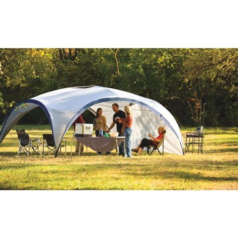 coleman event 14 gazebo coleman event 14 standard with sun wall cing plus