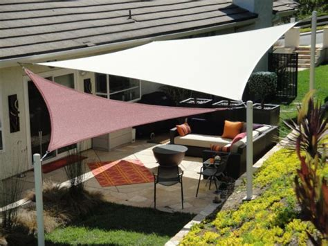 backyard sail shade 25 best ideas about triangle sun shade on