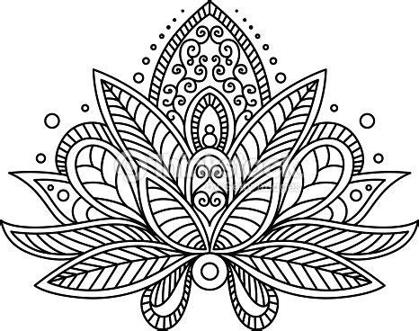 Blumen Sticker Für Nägel by Or Turkish Paisley Flower Vector Thinkstock