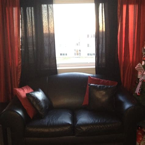 black living room curtains my red and black living room house pinterest colors