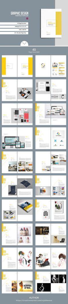 layout design graphic pdf botanic multipurpose creative portfolio creative