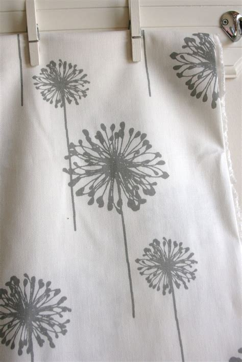 home decor weight fabric white storm grey dandelion home decor weight fabric from