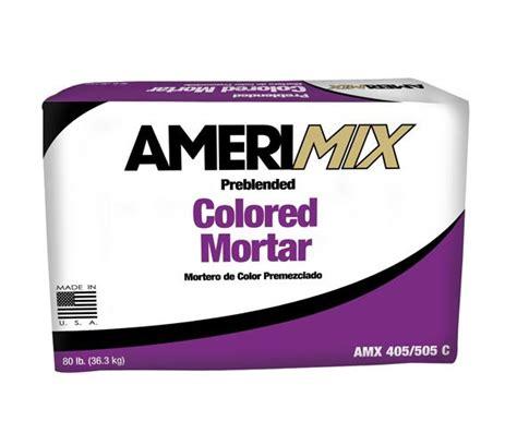 amerimix colored mortar basalite