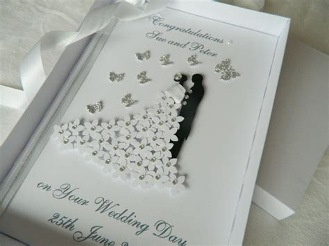 Handmade Wedding Cards Sle - handmade cards for wedding day search idees vir