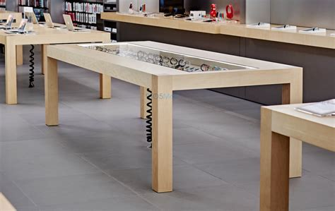 Apple Store Tables apple store rev for apple revealed magical