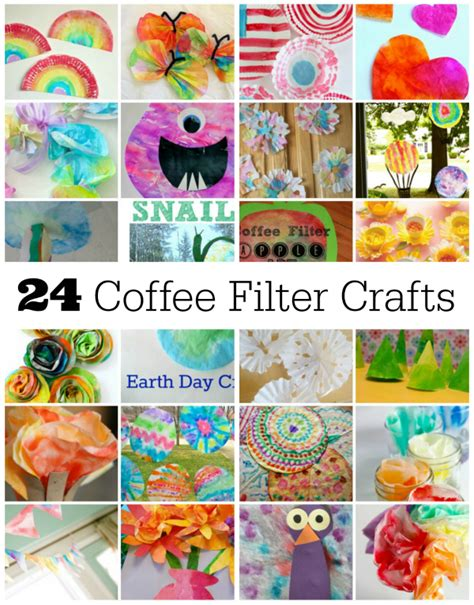Diy Spring Home Decor by 24 Fun Coffee Filter Crafts To Make Make And Takes
