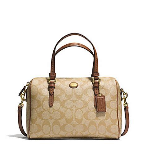 Coach Mini Bennet Signature Mahogani coach f49862 peyton signature mini satchel b4cz9 coach handbags