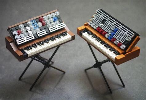 best moog synthesizer lego ideas minimoog synthesizers