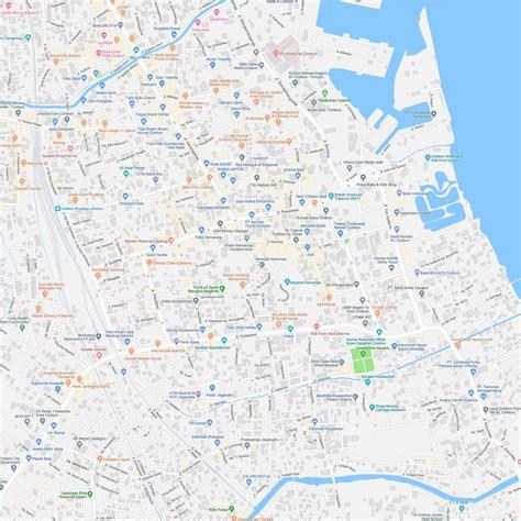 peta cirebon kota lengkap ukuran besar  detail jual