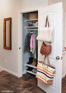 1000 ideas about small coat closet on small