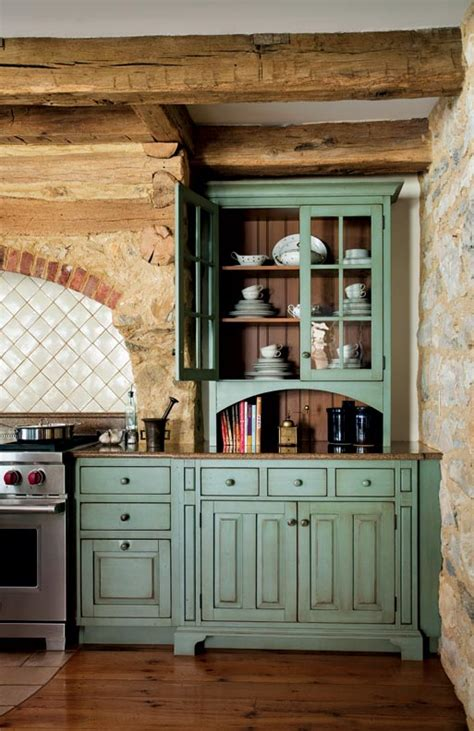 raw kitchen cabinets primitive colonial kitchen cabinets antiqued turquoise