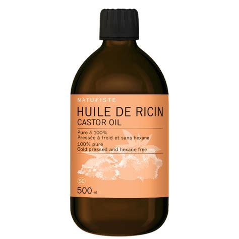 huile de ricin naturiste