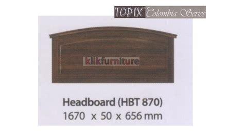Headboard Sandaran Kepala Ranjang Kulit hbt 870 colombia topix headboard ranjang agen termurah