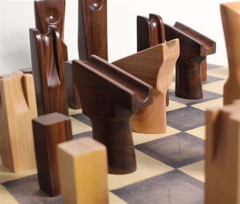 Handmade Wooden Set - handmade wooden chess set rosewood maple jon peters