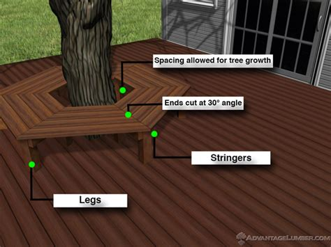 how to build bench around tree how do i build a decorative step from decking 171 wood