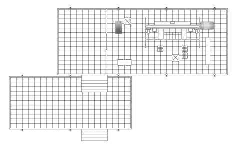Farnsworth House Plan The Farnsworth House Architecture And Design Architect Boy