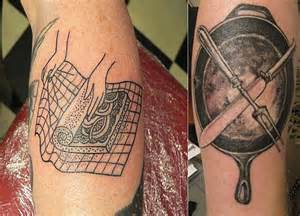 Kitchen Tattoo Designs by Culinary Art Passion For Cooking Body Art Diary