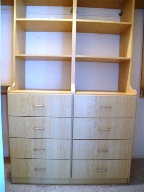 Custom Closet Drawers by Custom Closets Closet Design Custom Closets And