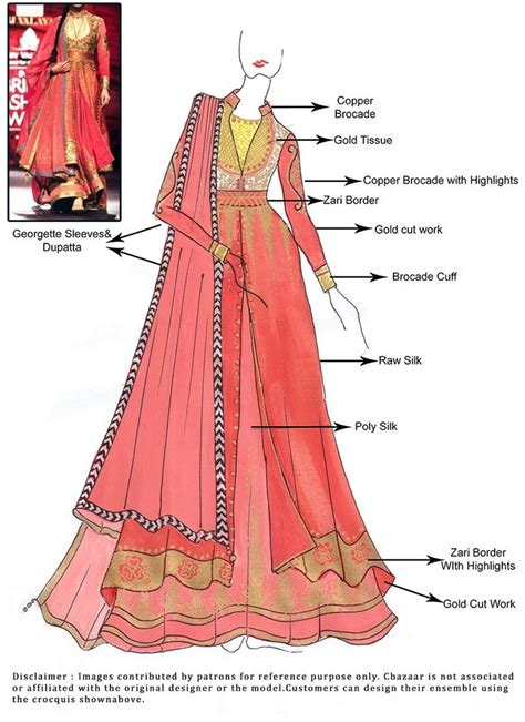 design clothes get them made 91 best images about indian wear sketches on pinterest