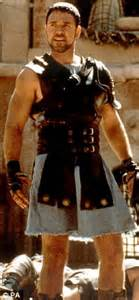 film gladiator oscars rockin robin slimmed down russell crowe gets his