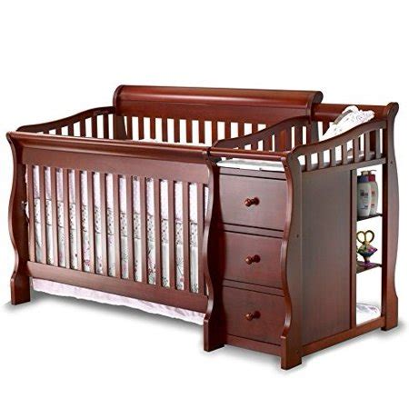 sorelle crib n changer sorelle tuscany 4 in 1 convertible crib and changer