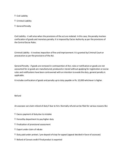 authorization letter format central excise central excise