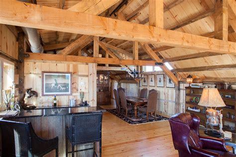 loft living in a nebraska barn home traditional living loft living in a nebraska barn home traditional dining