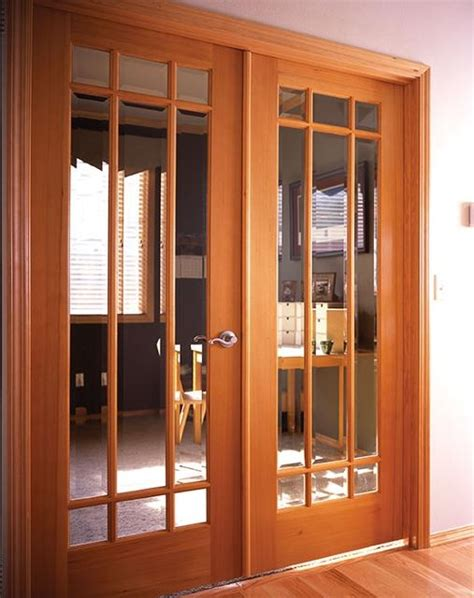Wood Interior Doors With Glass Interior Glass Doors Basement