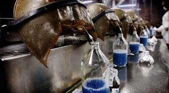 what color is horseshoe crab blood 672px