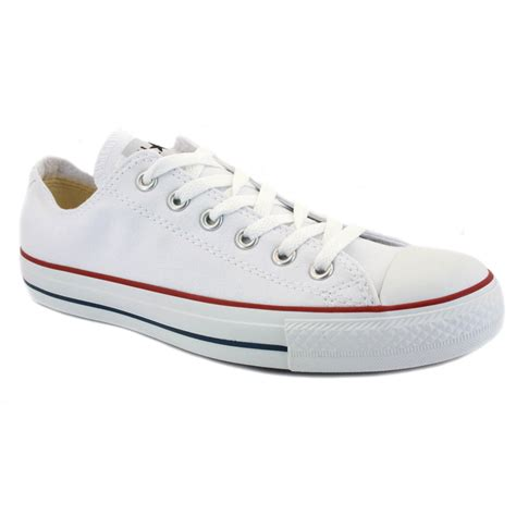 chuck shoes converse all chuck ox white unisex trainers