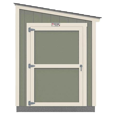 tuff shed installed  tahoe series lean   ft   ft