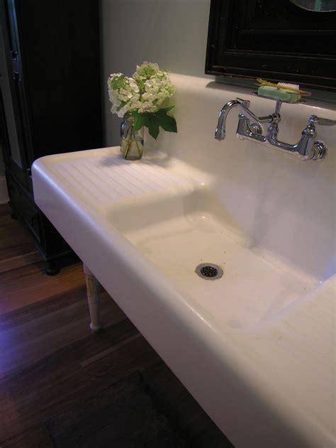 Salvage Bathroom Vanity by 58 Best Images About Big Sinks On Trough Sink