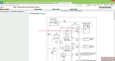 toyota electrical wiring diagram workbook toyota jbl wire