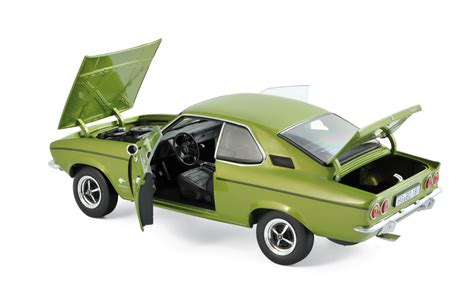 opel green opel manta 1970 lemon green metallic