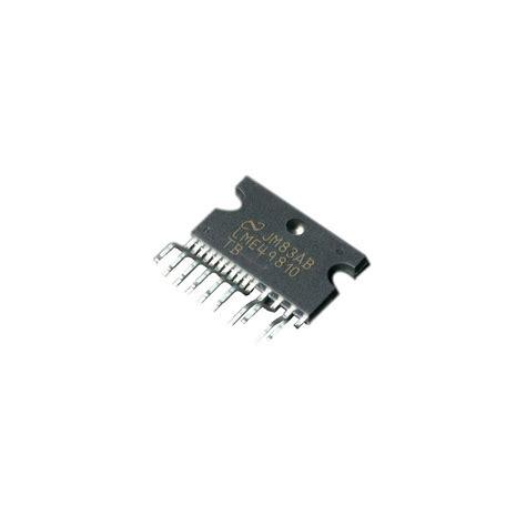 driver transistor bipolaire lme 49810 driver de bipolaire hi fi audiophonics