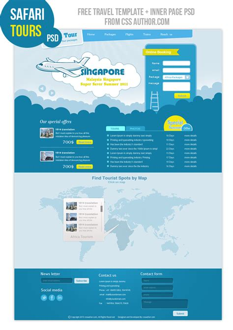 free business templates free business website templates