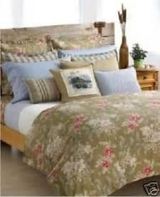 Charisma Duvet Ralph Lauren Boathouse Floral 7p Queen Duvet Cover Set Ebay