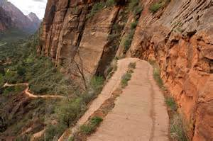 Climbing up to angels landing zion national park 3444013182 jpg