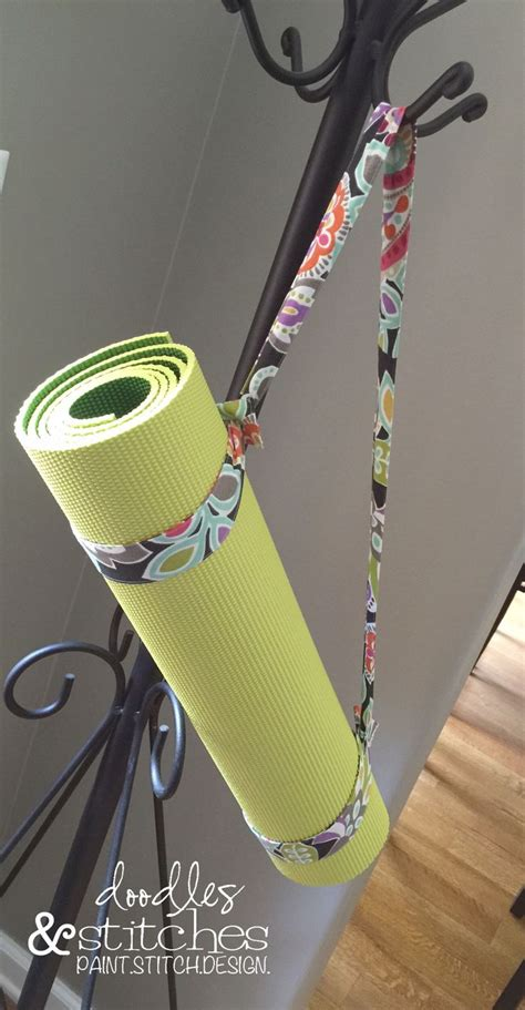 tutorial para hacer yoga an easy tutorial on how to make your own yoga mat strap