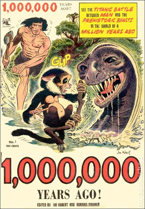 million years ago one million years ago 1953 comic books