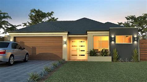 modern one story house small 1 story modern house plans modern one story house