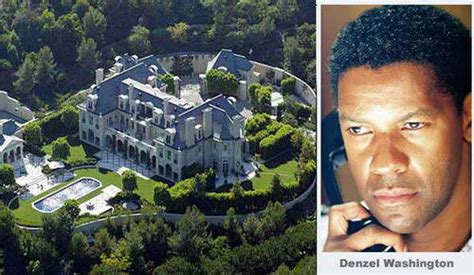 celebrity house pictures homes of hollywood celebrities denzel washington