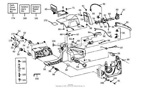 fuel line diagram for poulan chainsaw poulan 3300 gas saw parts diagram for external power unit