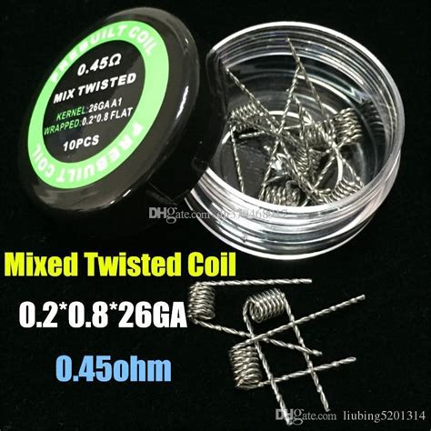 Authentic Ud Twisted Fused Clapton Ss Coil 0 1 Ohm St Berkualitas Dc Wire Fused Clapton Ideas Electrical And Wiring