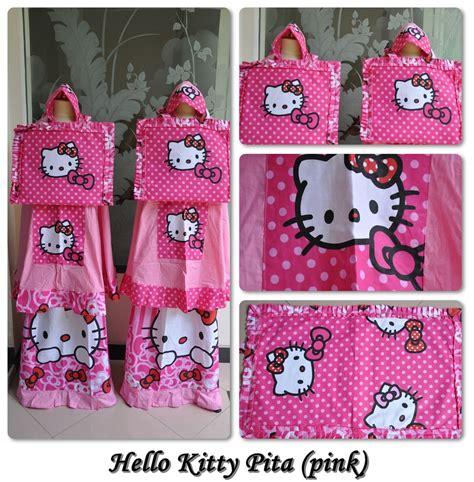 Mukena Anak Hk Kimono Pink Xl mukena hellokitty pita pink amiraonlinestore